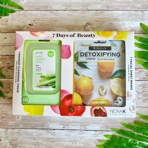 7 Days of Beauty Face Masks & Wipes